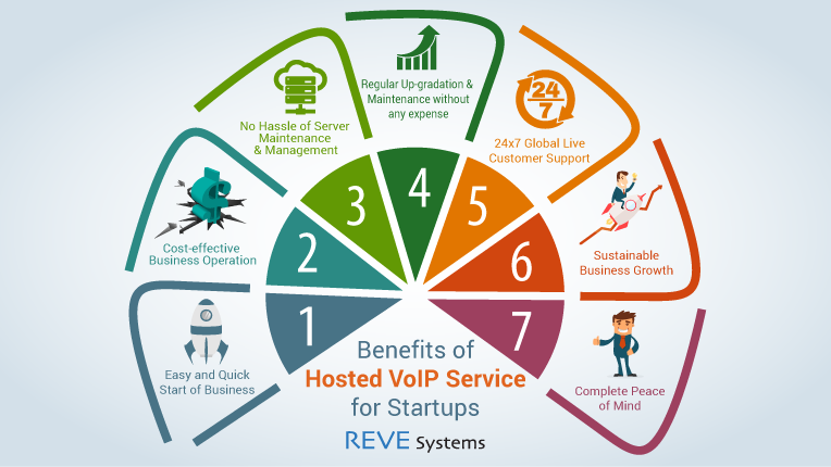Hosted VoIP Service - Infographics
