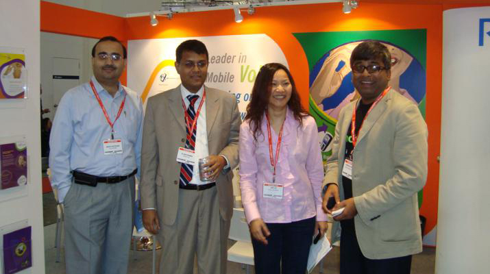 REVE Systems at CommunicAsia 2009, Singapore