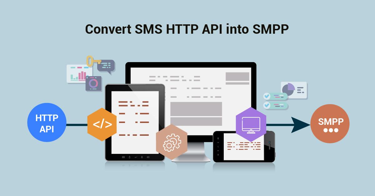 Convert SMS http API to SMPP