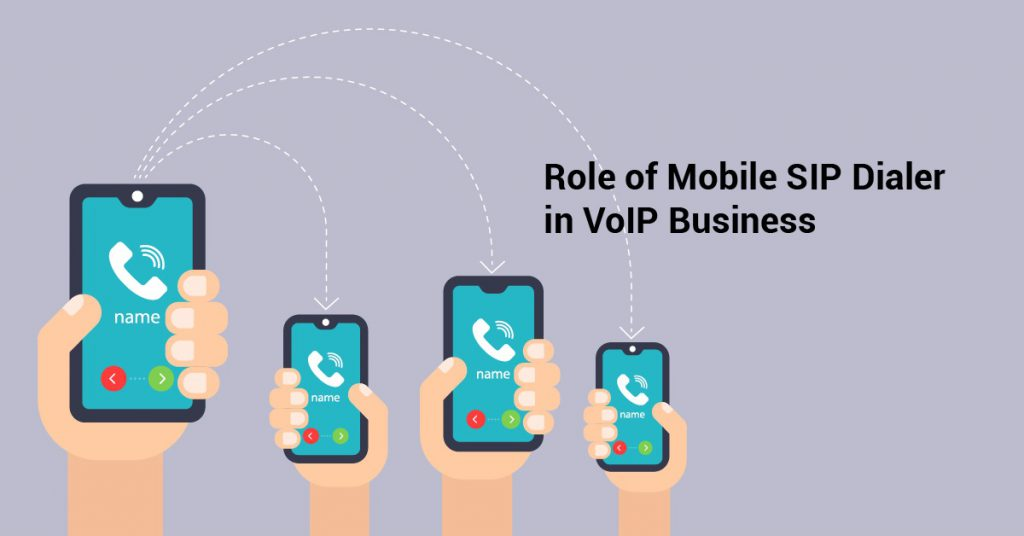 Role of Mobile SIP Dialer