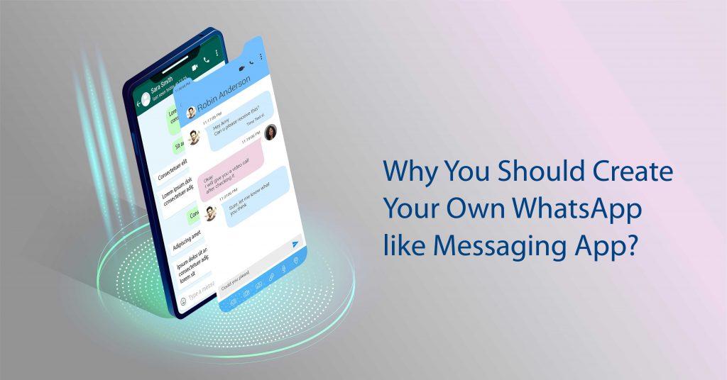 whatsapp like messaging app