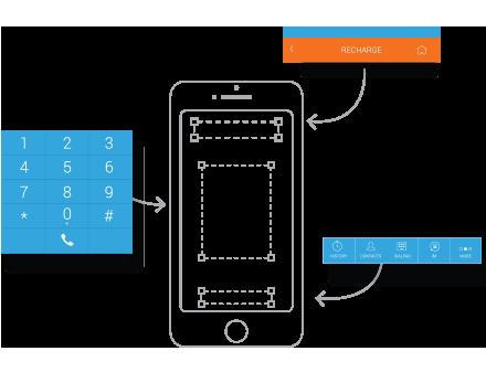 iTel Mobile Dialer customization