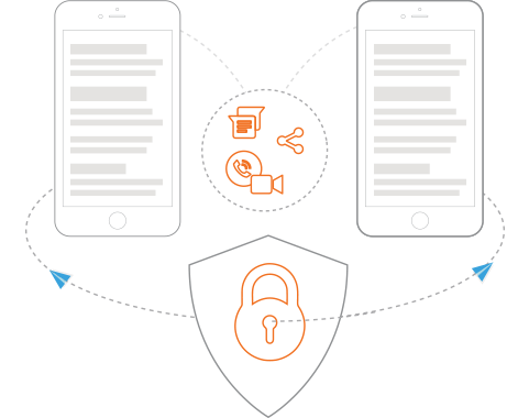 Secure Enterprise Communication App