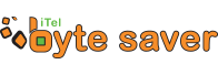 iTel Byte Saver Logo
