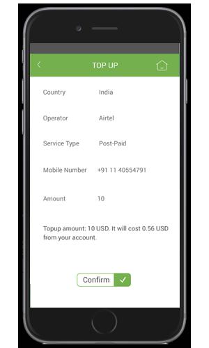 iTel 'Mobile Top Up' Screenshot 2